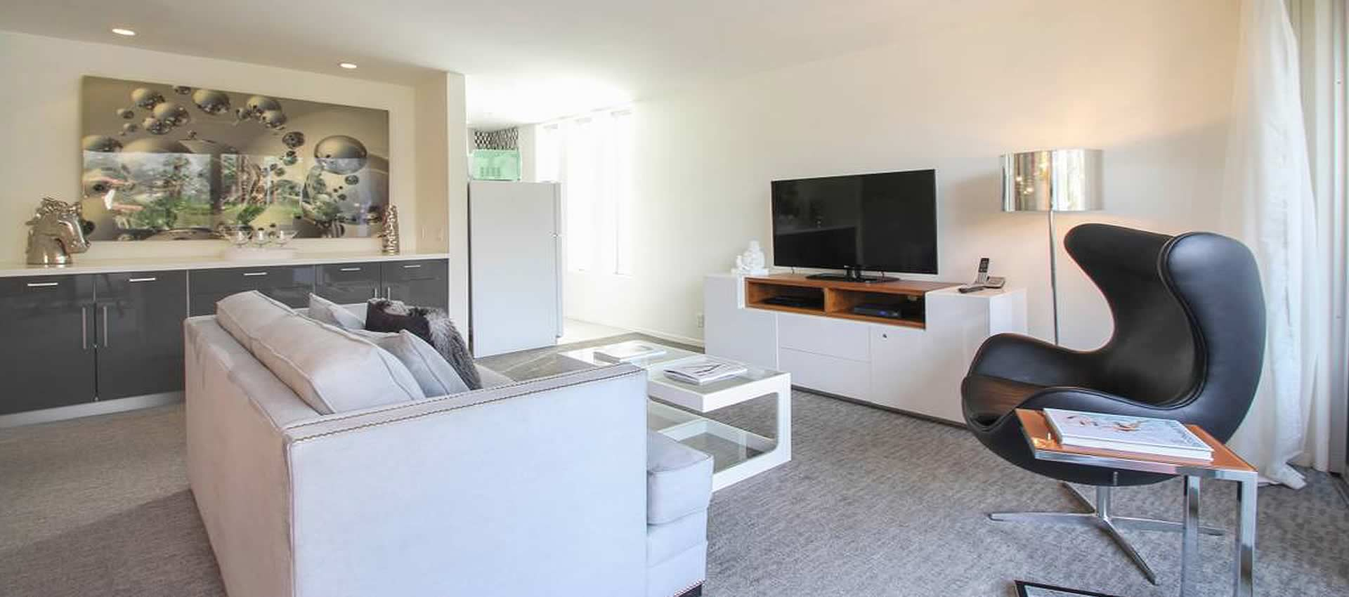 the living room twist hotel room 203