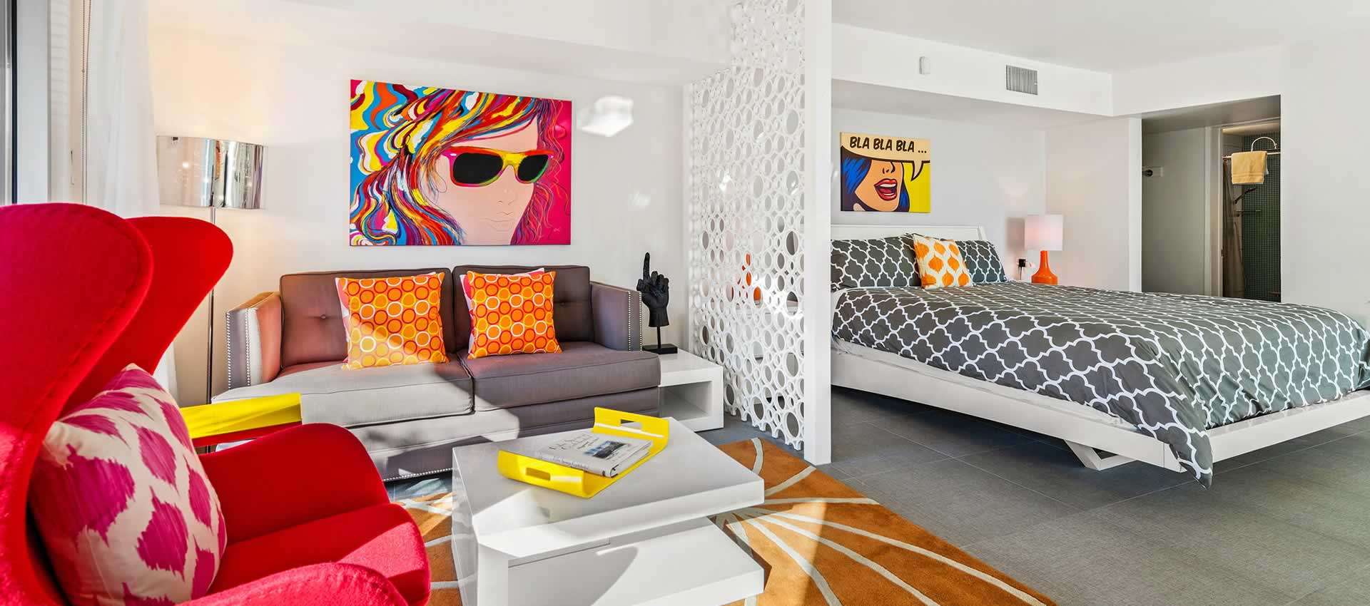 Studio 103 ADA - Sitting Area
