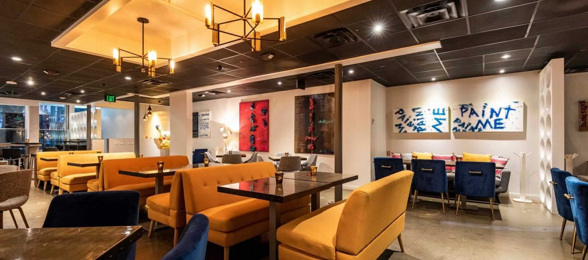 Roly China Fusion Dining Room Booths